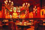 Die harmonische Einheit aus Ost und West macht den Reiz des Buddha-Bar Restaurants aus.