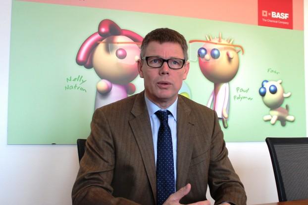 """BASF-Geschäftsführer Herbert Fisch:  """"Wir freuen uns sehr, dass das Kids' Lab auch in Ungarn so erfolgreich gestartet ist."""""""