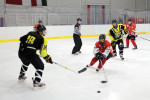 Anpfiff: Eishockey spielt man im Team, man spielt es schnell, aber vor allem mit vollem Körpereinsatz. (Fotos: Arthur J. White)