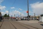 Großes Volksfest und viele Verkehrsbeeinträchtigungen an der Donau.