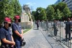 Besetzungsdenkmal-Polizeischutz