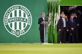 Wenig Gegenliebe erwartete Premier Orbán bei der Eröffnung des neuen Fradi-Stadions.