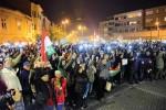 Internetadó - Tüntetés az internetadó bevezetése ellen Szom