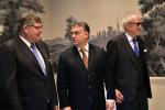 Orbán Viktor; Schneider, Alfons; Hennerkes, Brun-Hagen