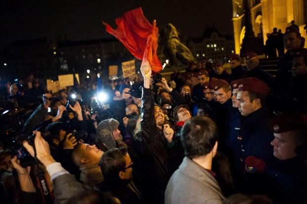 A közfelháborodás napja - Demonstráció Budapesten