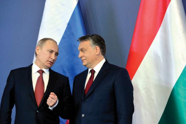 """""""Statt jetzt im Westen über die Orbánsche Realpolitik in Sachen Russland überheblich die Nase zu rümpfen, sollte dort lieber einmal darüber nachgedacht werden, wie der offensichtlich gute Draht, der Orbán und Putin verbindet, für ein Voranbringen des Friedensprozesses genutzt werden könnte."""" Foto: MTI"""
