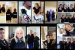 Textiler Protest: Schwestern, Pfleger und Ärzte solidarisieren sich mit Mária Sándor und tragen schwarz, um auf die katastrophalen Zustände im Gesundheitswesen aufmerksam zu machen.