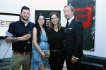 21_Show-Stars Loki und Barbara Gere (Viasat 3) sowie Zsuzsa Demcsák (TV2)