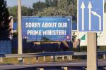 """""""'tschuldigung für unseren Premierminister!"""""""