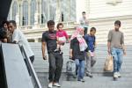 Ankunft ins Ungewisse: Viele Migranten wissen nicht, was sie in Europa erwartet, außer der Hoffnung auf ein besseres Leben. (BZT-Fotos: Nóra Halász)
