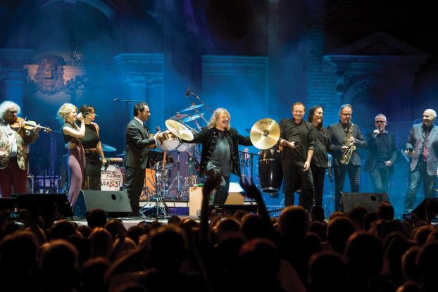 Mándoki László koncertje Budapesten