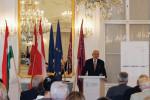 Der Kenner: Dr. Erhard Busek weiß als Koordinator der Southeast European Cooperative Initiative (SECI) um die Probleme der Balkanregion.
