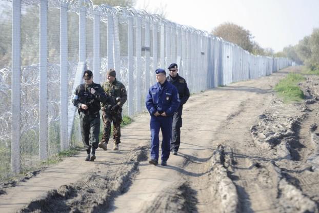 Illegális bevándorlás - Cseh és szlovák rendõrök a magyar