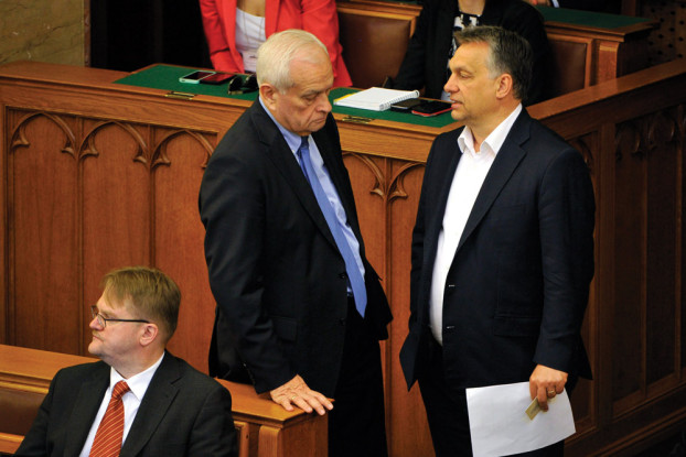 Harrach Péter; Orbán Viktor; Répássy Róbert