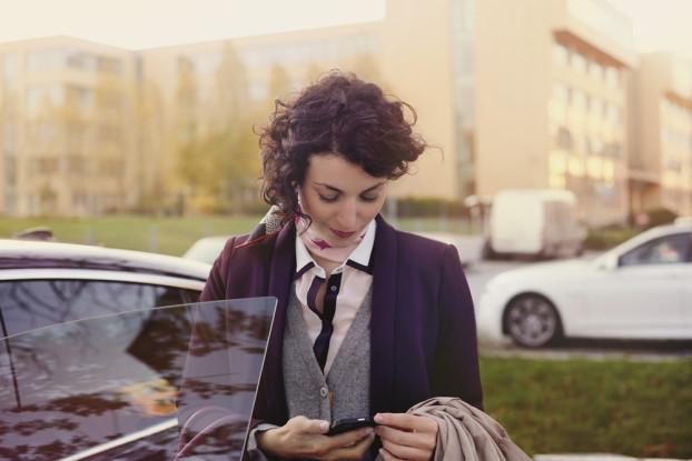 Heute kann Parkgebühren zahlen ganz einfach per Telefon erfolgen.