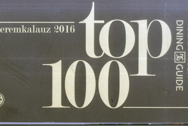 Der Volkswagen Dining Guide TOP100-Restaurantführer 2016: Ein verlässlicher Kompass für die ungarische Gastronomieszene.