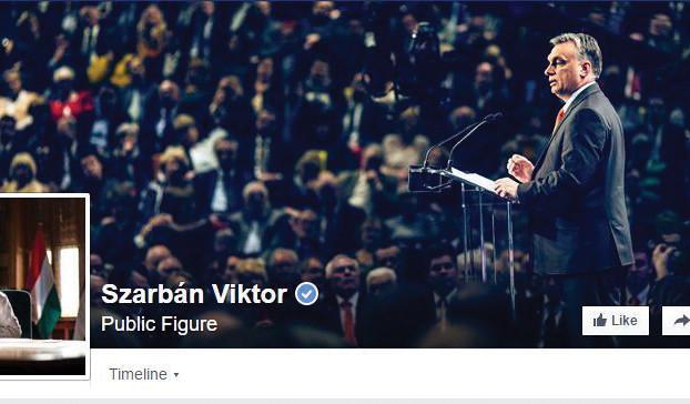 Selbst auf Facebook ändert das Plug-in den Namen des Regierungsoberhauptes.