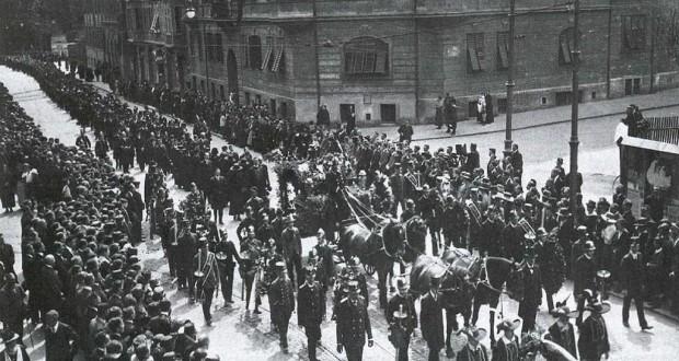 Beerdigung von Franz-Innerhofer